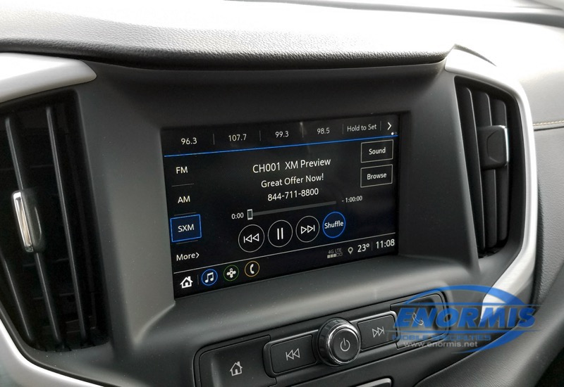 GMC Terrain Satellite Radio
