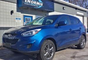 Repeat Wattsburg Client Adds Hyundai Tucson Starter and Heated Seats