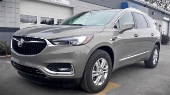 Edinboro Client Upgrades Buick Enclave CD Player