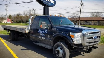 Erie Towing Company Chooses ENORMIS for Ford F-550 Electrical Repair