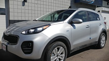 Erie Client Adds Convenience of Kia Sportage Running Boards