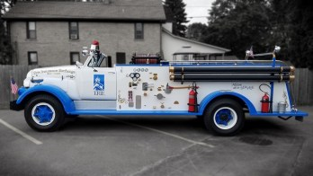 1955 GMC 630 Fire Truck Camera System for Erie Insurance Group