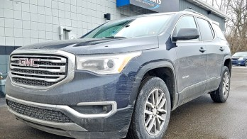 Titusville Client Upgrades 2019 GMC Acadia with DVD Player