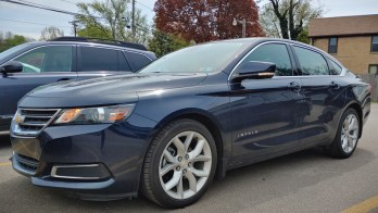 ENORMIS Diagnoses and Repairs 2017 Chevrolet Impala Backup Sensors