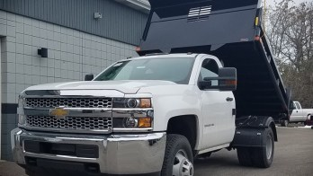 Backup Camera Added to 2019 Chevrolet Silverado 3500 Dump Truck