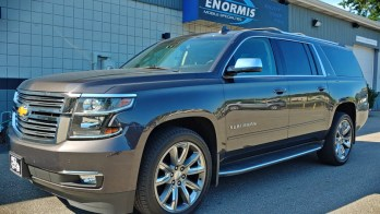 Rear Video with DVD Satisfies the Kids in a 2016 Chevrolet Suburban