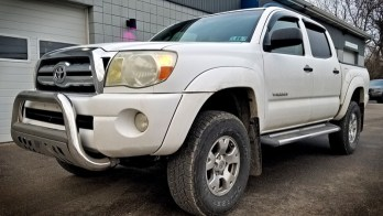2007 Toyota Tacoma gets Remote Start and Keyless Entry Upgrade