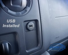 USB port was installed on E Series