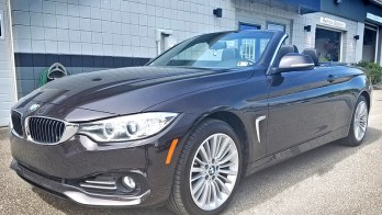 BMW 428i Backup Camera added for Conneaut Lake Resident