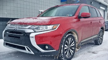 2019 Outlander Remote Start with secure takeover on this Mitsubishi