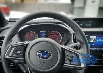 2019 Subaru Impreza Dash