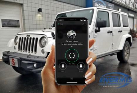 2018 Wrangler and Smartphone App