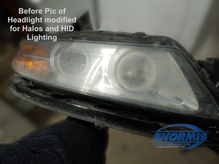 Modified Acura Headlight