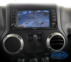 Wrangler Rear Camera Display