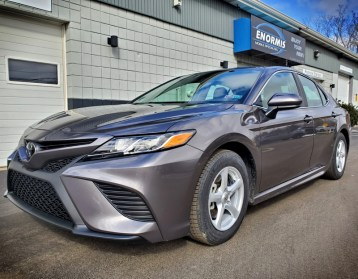 2019 Camry LE gets Blind Spot Monitor System