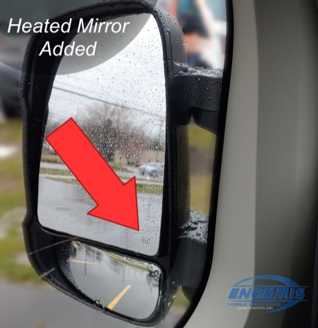 2019 Promaster Van Gets Power-Fold HEATED mirrors
