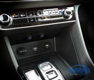 Heated Seat Switches are added in the center