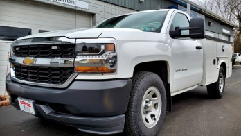 Silverado Warning Strobes and Fuel Tank Pump for 2016 Chevy
