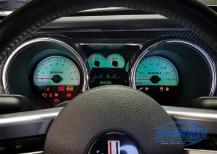2006 Ford Mustang Jack Roush Edition Cluster Repair Closeup