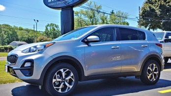 2020 Kia Sportage gets Hitch and Remote Starter for North East, PA Client