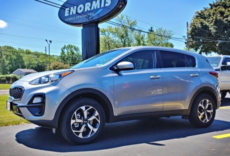 2020 Sportage gets remote start and hitch