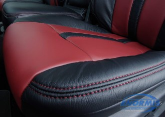 Leather Seat Closeup