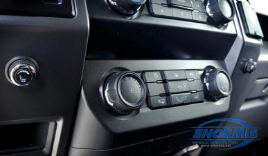 F-150 Heated Seat Rotary Dials Added