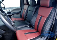 F-150 Leather Front Seats Added