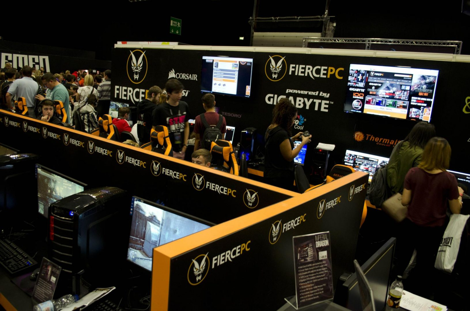 The Fierce PC Booth at I55  EnosTechcom