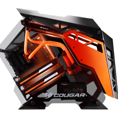 Red Gaming Chair Pink Lucite Cougar Announces New Conquer Pc Case - Enostech.com