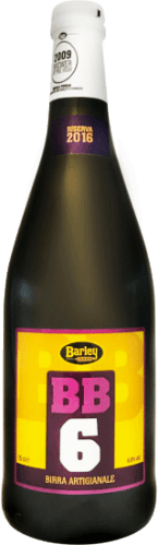 Birra artigianale BB6 Barley
