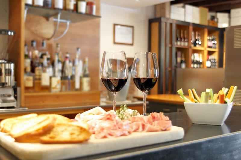 Ristorante Bergamo Enoteca Zanini atmosfera ricercata vini