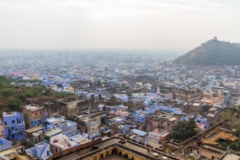 Bundi, vue depuis le fort