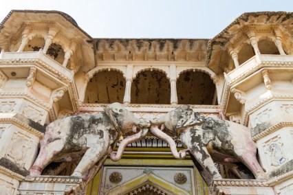 Bundi, porte du Garth Palace