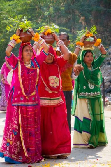 Bundi, procession