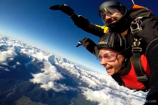Fox glacier skydive