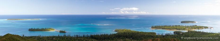 Baie de Kuto et Kanuméra