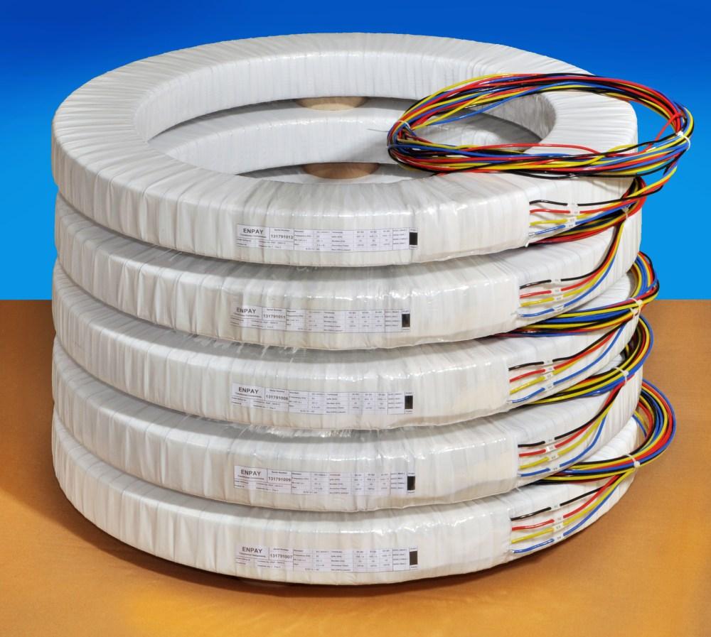 medium resolution of sub assembled bushing type current transformer