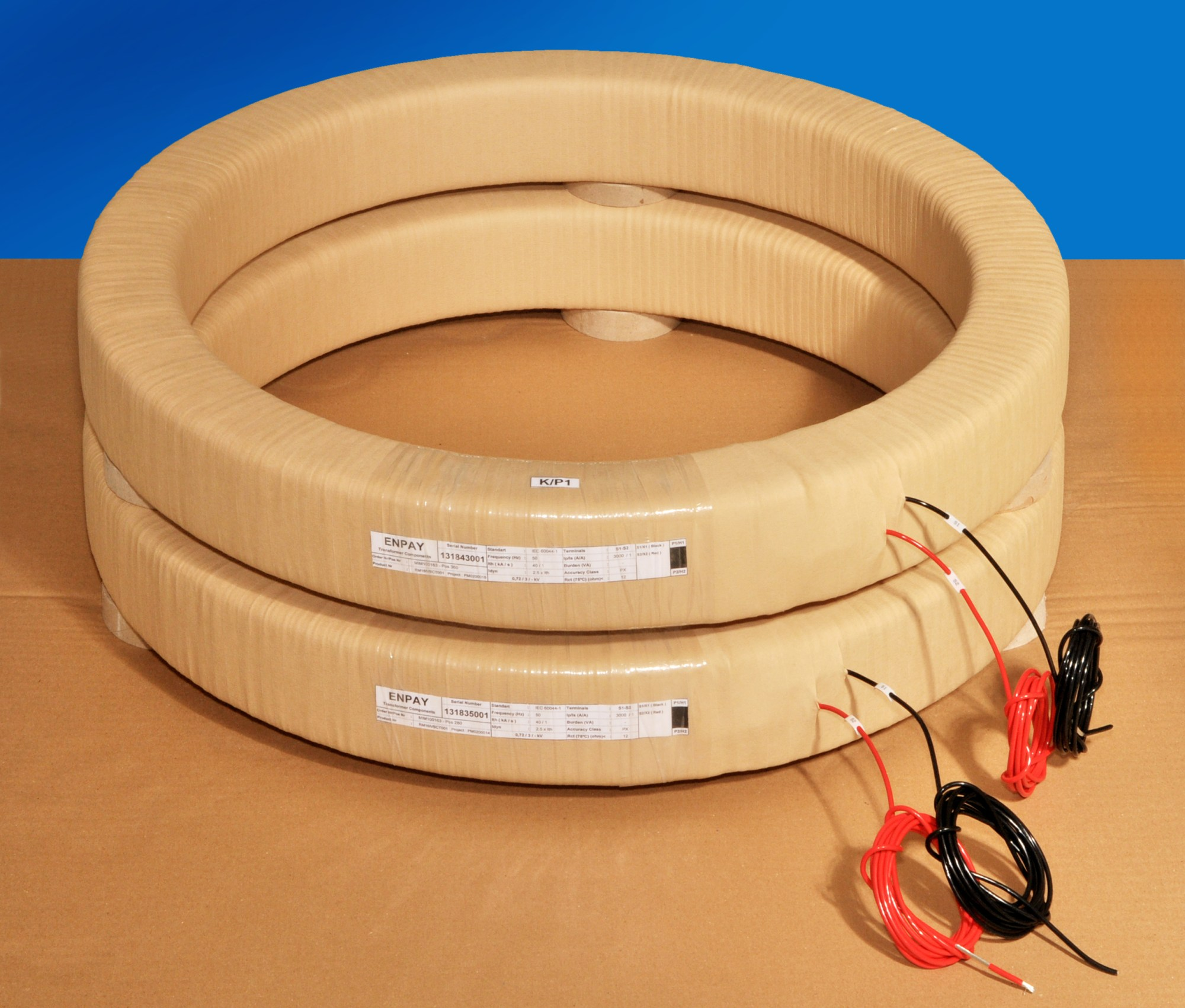 hight resolution of sub assembled bushing type current transformer
