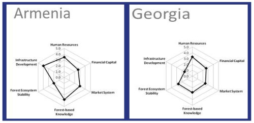 small resolution of in the sample diagrams from communities in armenia and georgia the shapes highlight the differences in infrastructure forest based knowledge and forest