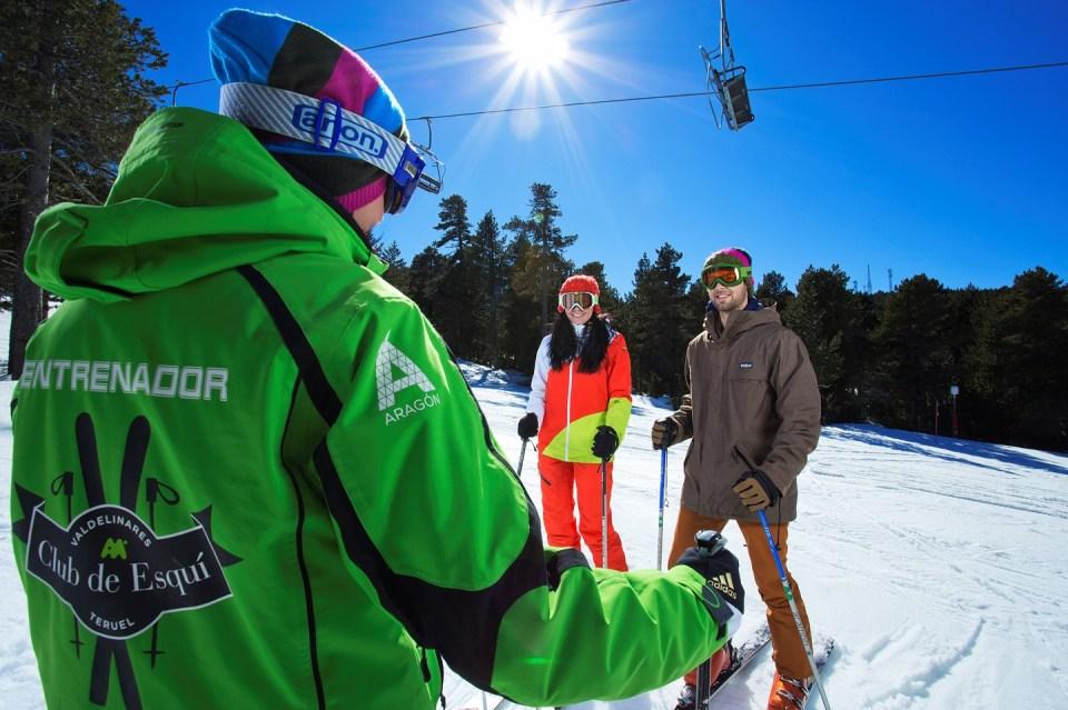 monitor esquí-clases