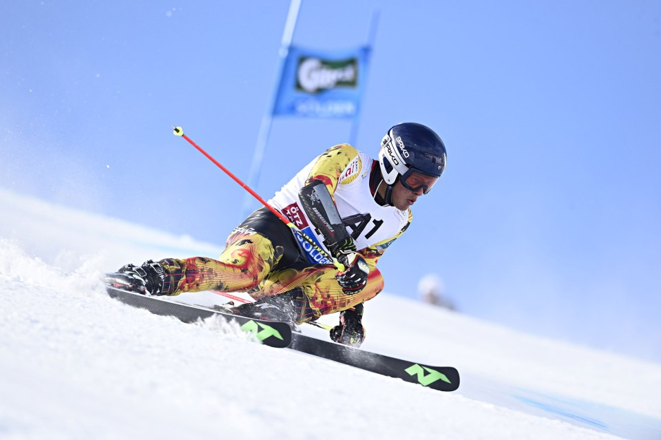 Men's Giant Slalom - SOELDEN 2015 SOELDEN, AUSTRIA - OCTOBER 25: Juan DEL CAMPO from Spain during the AUDI Alpine FIS Ski World Cup Men's Giant Slalom >>CREDIT: Alain GROSCLAUDE/AGENCE ZOOM
