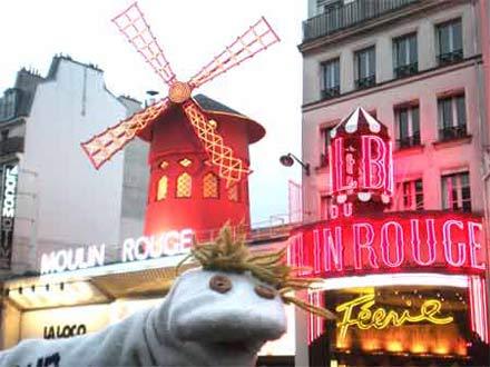 Haciéndonos a la cultura parisina.