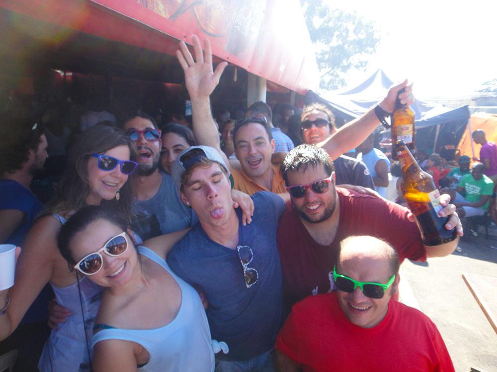 Fiesta en Mzolis, en Ciudad del Cabo