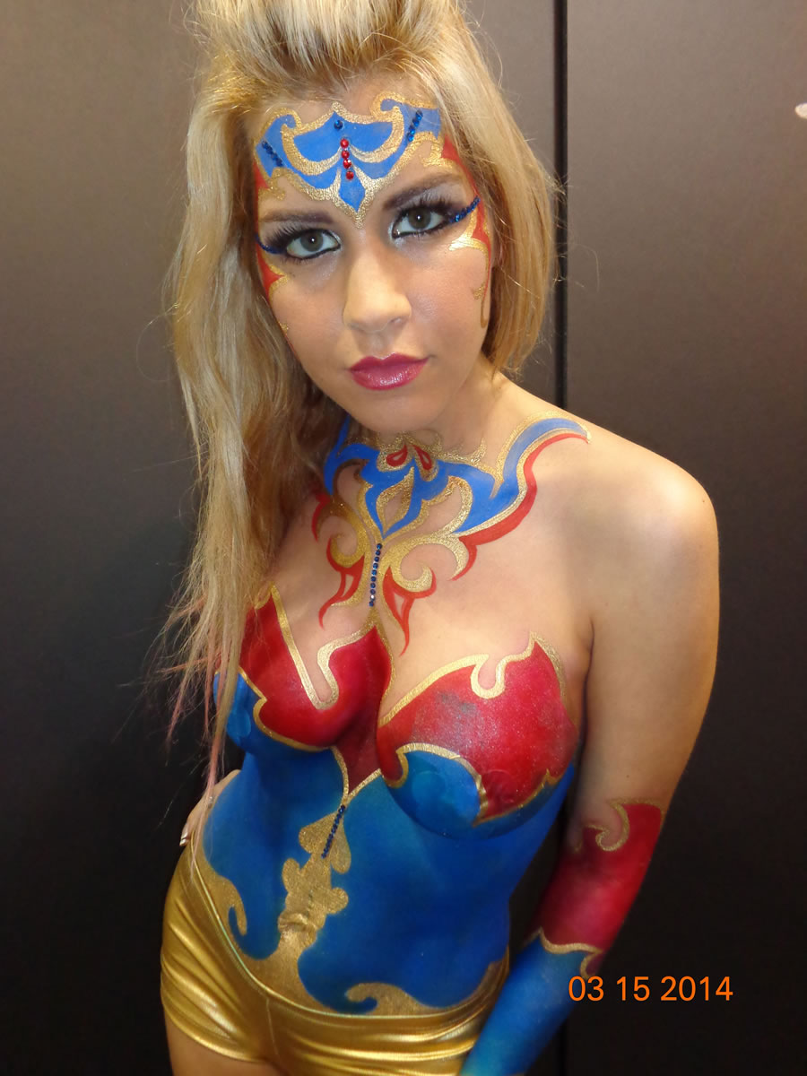 Specialty Body Painting Gallery  Enrapturing Entertainment