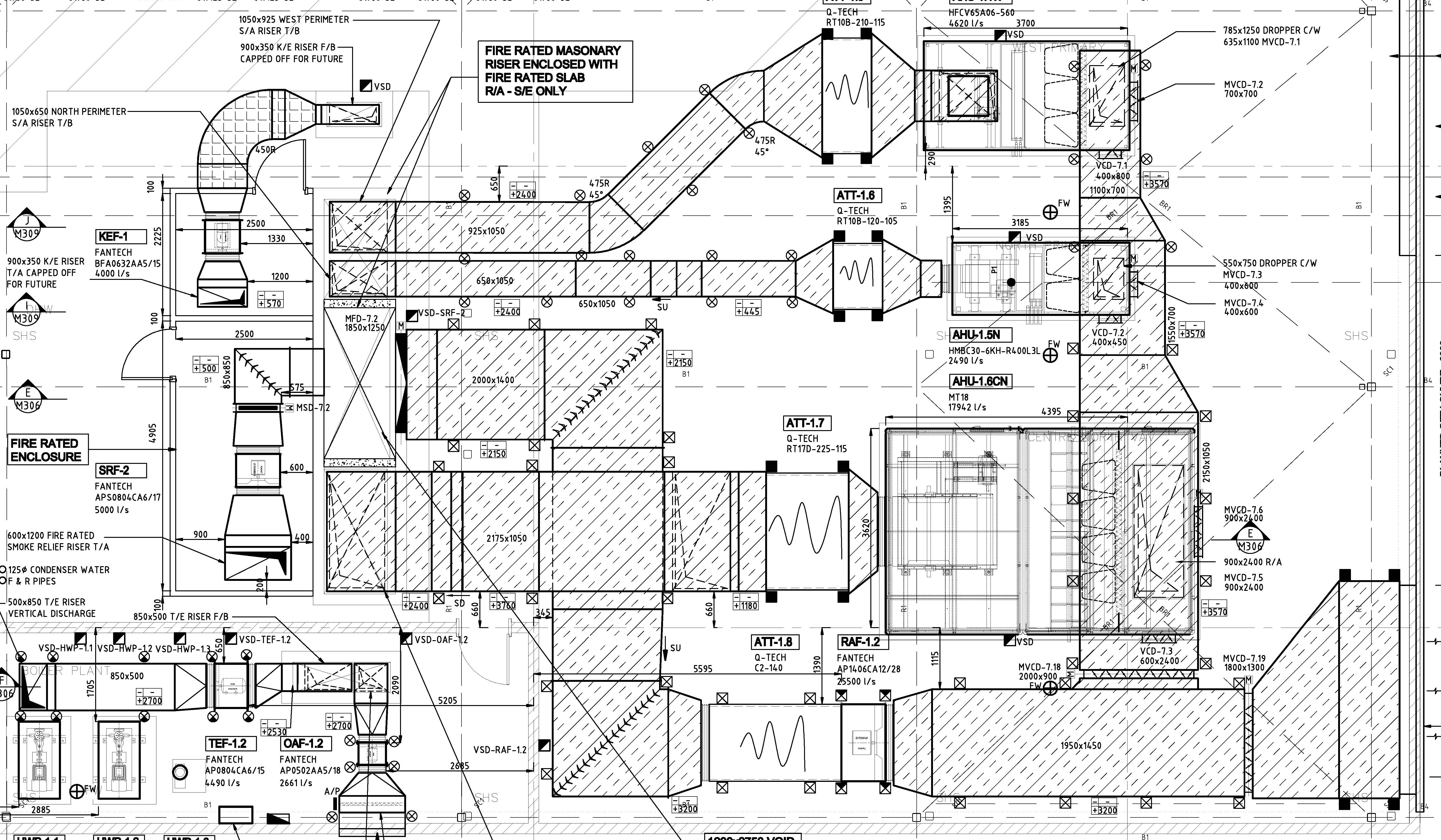 related with drawing hvac systems autocad