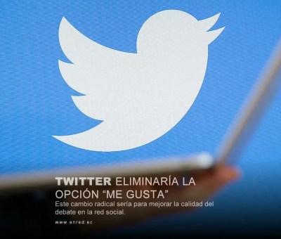 Twitter podría eliminar la función Me Gusta