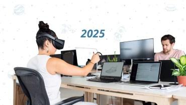 Las máquinas y los humanos trabajarán 50/50 en 2025