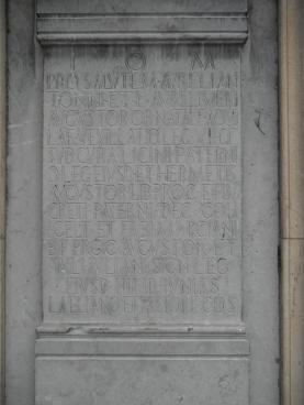 Ara conmemorativa de la fundación de León 10 de junio 68 d.C