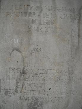 conmemoración de la ciudad de León 10 de junio 1968